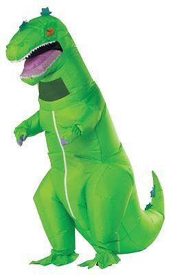 Reptar Aufblasbar Erwachsene Kostüm Grüner Dinosaurier Reminiscent - Godzilla Kostüm