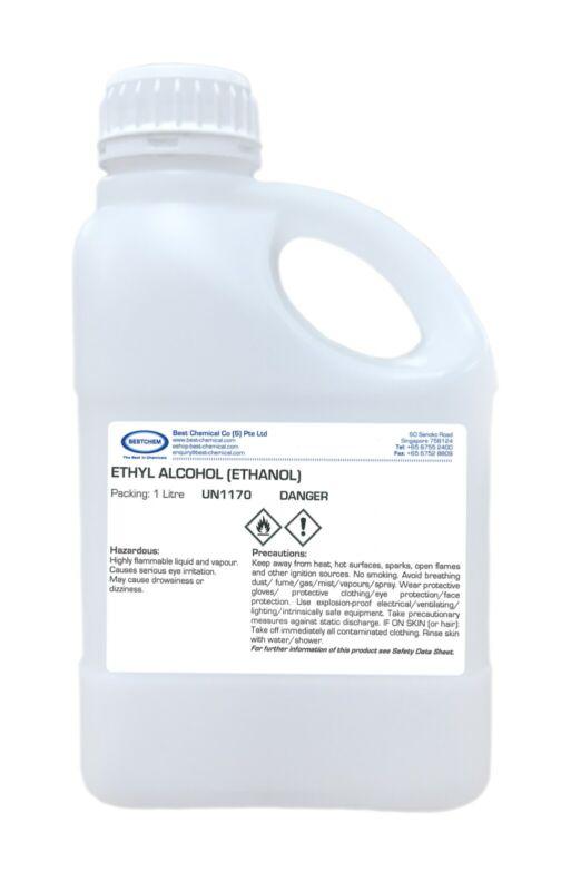 Ethyl Alcohol 85% Kosher Grade (Ethanol) 1 Liter