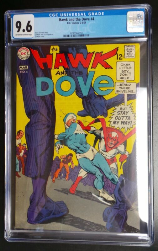 Hawk and the Dove #4 DC Comic CGC 9.6