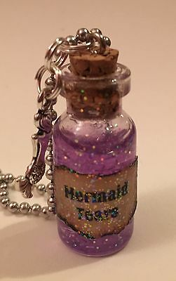 Mermaid Harry Potter (Mermaid Tears Handmade Glass Potion Bottle)