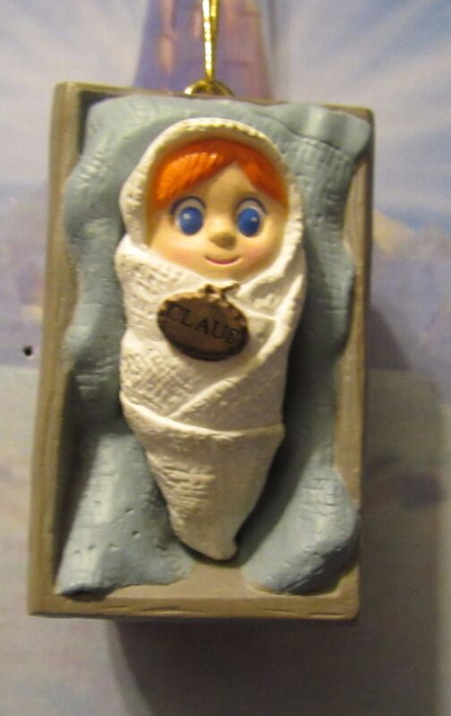 Santa Claus is Coming to Town by Rankin and Bass Baby Dingle Baby Claus Sled