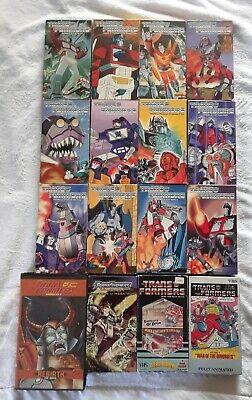 Transformers cartoon VHS lot Rebirth Energon animation anime