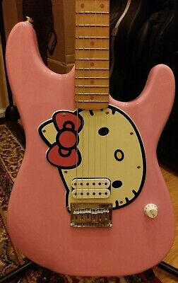 Squire Hello Kitty Stratocaster Guitar by Fender
