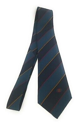 GUCCI Tie Very Rare Argyll and Sutherland Stripes Vintage Accessory Collection