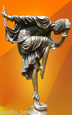 STUNNING ART DECO, Colinet ANKARA HOT CAST  BRONZE STATUE FIGURE FIGURINE