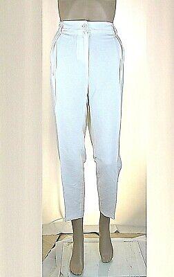 Pantaloni Donna TWIN-SET Simona Barbieri H870 Affusolato Bianco Tg L XL
