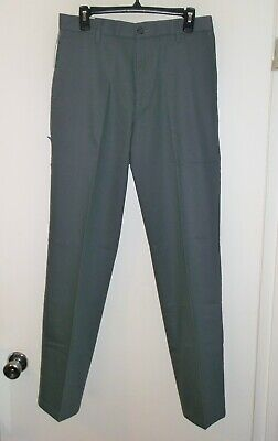 NWT* DOCKERS~ GRAY BEST PRESSED CLASSIC FIT FLAT FRONT SIGNATURE KHAKIS~ 30 X