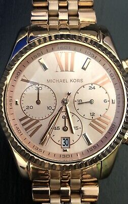 Michael Kors Mid- Lexington Chronograph MK5569 Wrist Watch for Women