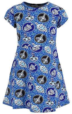 (Girls Repeating Dreidel Print Shirt Dress Boutique Toddler Kids Clothes)