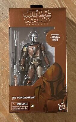 Star Wars Black Series The Mandalorian Carbonized Target Exclusive w/ Protector