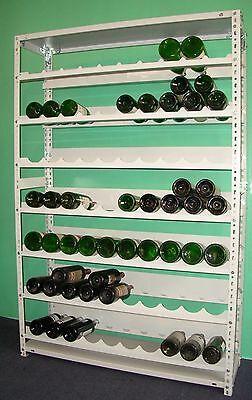 Weinregal,Flaschenregal,Kellerregal,Lagerregal,Produkt wie Bild für 133 Flaschen