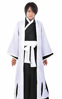 Bleach Cosplay Costume Gotei 13 Squad 5th Division Captain Aizen Sousuke Outfit