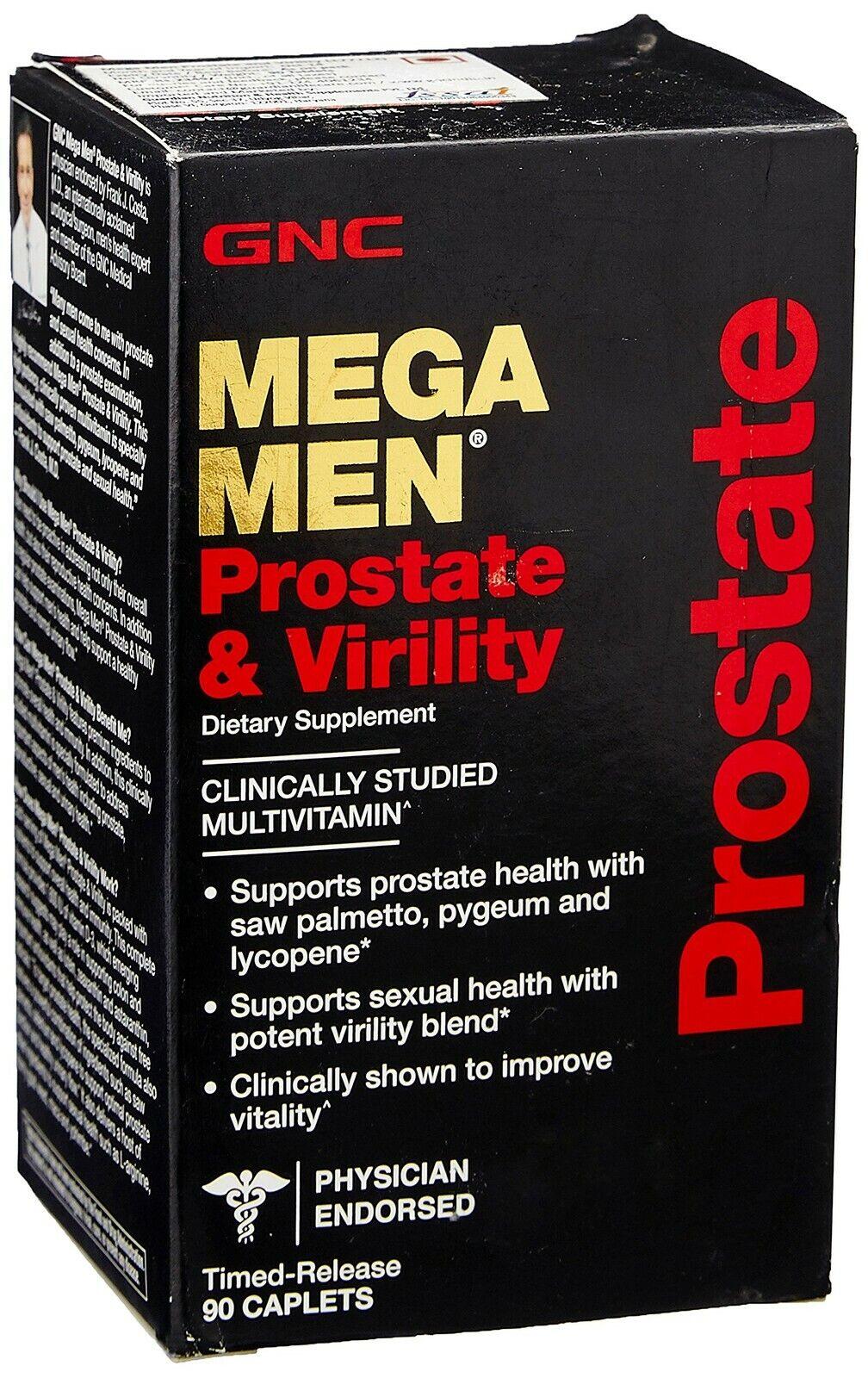 mega men prostate and virility multi vitamins