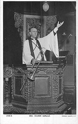 POSTCARD  RELIGION   Rev  Wilson  Carlile