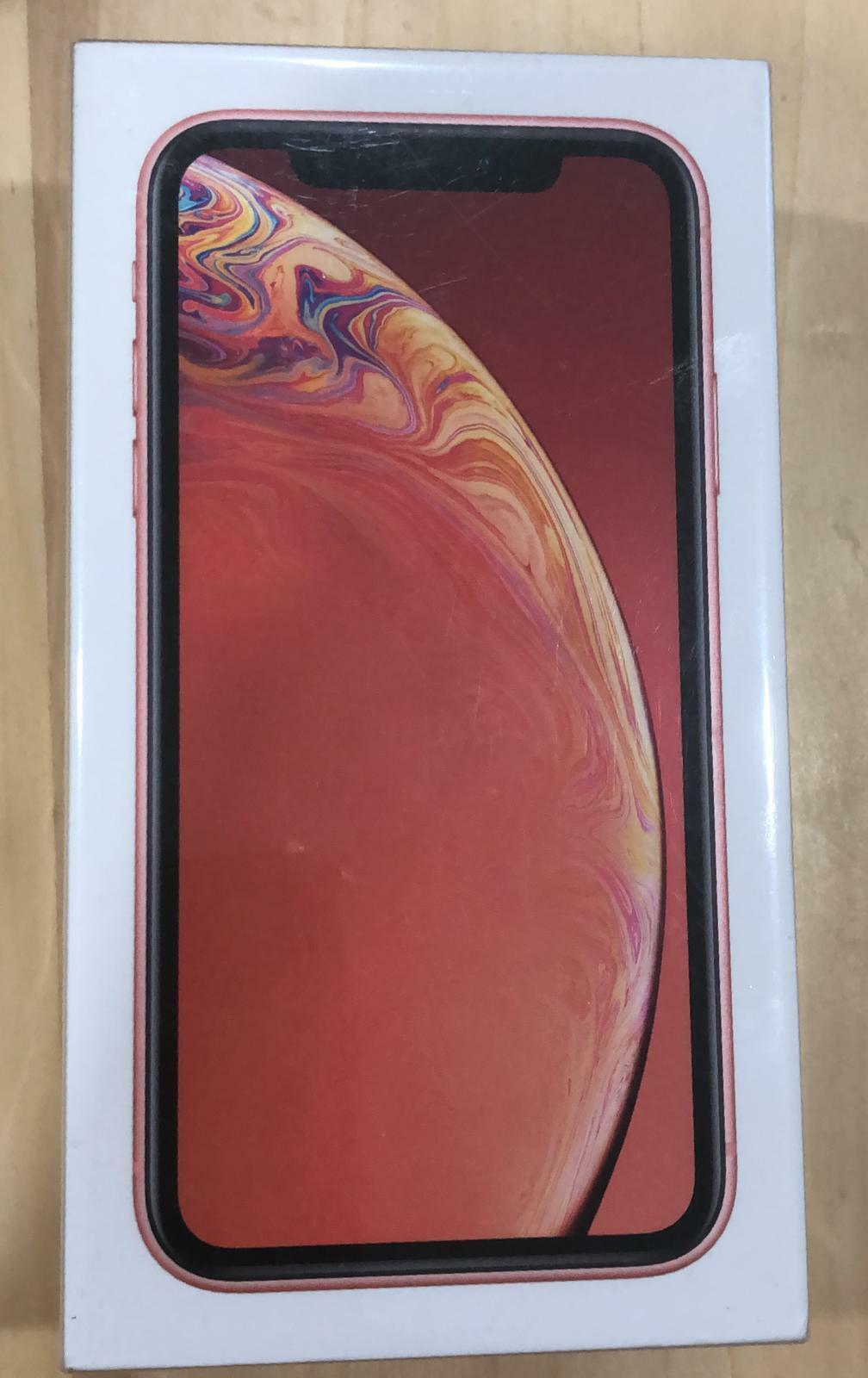 NEW SEALED Apple iPhone XR 128GB Coral (FACTORY UNLOCKED)1 Yr APPLE WARRANTY!