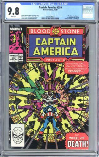 Captain America #359 (1989) CGC 9.8