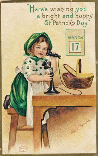 1910 Sgd. Ellen Clapsaddle St. Patrick