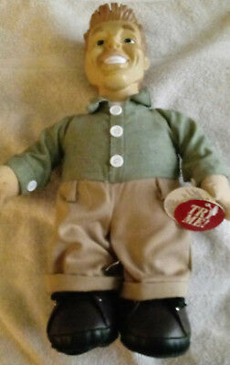 """DAN DEE--MR PERFECT"" TALKING DOLL..14""..SPEAKS 16 DIFFERENT LOVING SENTENCES"