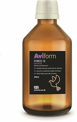 Aviform Force 13 Stamina & Endurance Supplement For Racing Pigeons 250ml