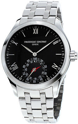 Frederique Constant Smartwatch Quartz Men's Black Dial 42 mm Watch FC-285B5B6B