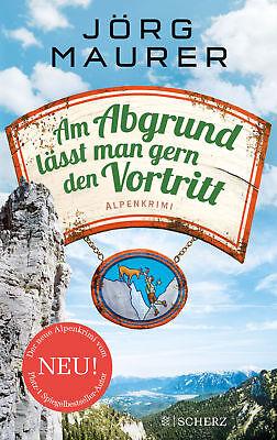 Am Abgrund lässt man gern den Vortritt, Jörg Maurer