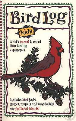 Nature Journals: Bird Log Kids by DeAnna Brandt (1998, Spiral)