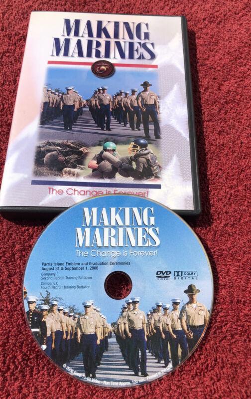 Making Marines (DVD 2006) Parris Island USMC 8/31/2006 & 9/1/2006 Company E & O