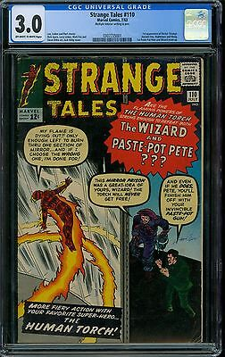Strange Tales 110 CGC 3.0 - OW/W Pages