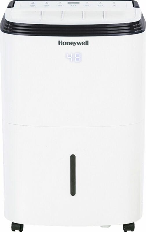 Honeywell - 70-Pint Smart Portable Dehumidifier - White
