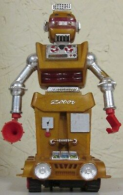 1968 Ideal Zeroids ZOBOR Robot in good WORKING condition