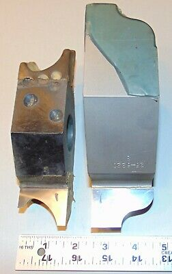 Lot Of 2 Molding Shaper Cutters 1-14 Bore Profile Woodworking Drake Corp.