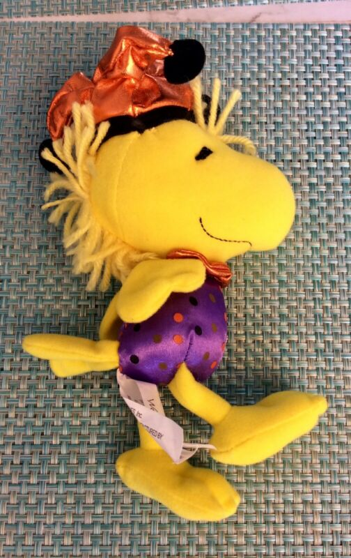 Peanuts Plush Woodstock In Jester Outfit
