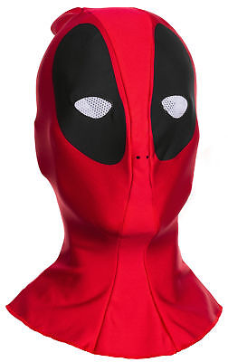 Deadpool Fabric Mask Adult Costume Accessory NEW