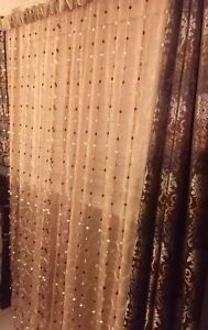 2 panels of beaded curtains