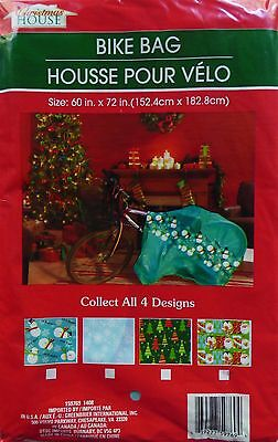 New Christmas House Giant Gift Bike Bag 60 in. x 72 in. ~ Assorted (Qty 1)](Christmas Gift Bags)