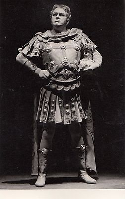 CG96.Vintage Photograph. Man in Roman costume. By Schiegel from Lunzenau,Germany