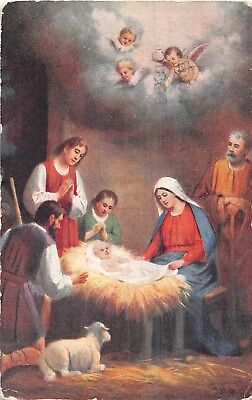 POSTCARD     RELIGION    The  Birth  of  Jesus