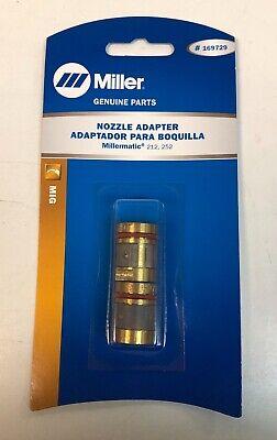 Genuine Miller 169729 Nozzle Adaptor Millermatic 212 252 M-25 M-40