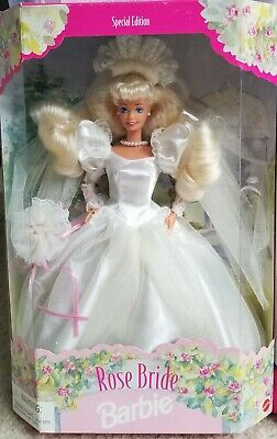 ROSE BRIDE Barbie Doll ~ Special Edition ~ New in Original Packaging