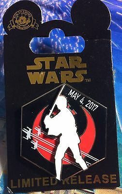 Disney Pin Star Wars May The 4Th Be With You Luke Noc