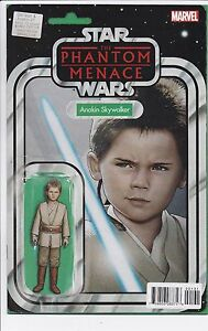 Star Wars Obi-Wan & Anakin #1 Action Figure Variant Cover Prince George British Columbia image 1