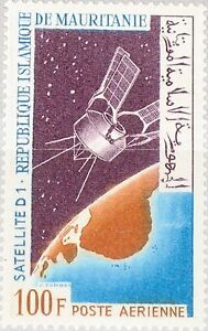 Mauritania-Mauritania-1966-277-c52-Launch-D-1-satellite-spaziale-Space-MNH