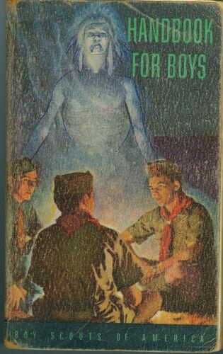 "1956 Boy Scout ""Handbook For Boys"""