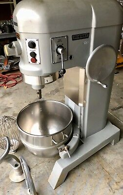 Hobart 60qt. Mixer H-600t 60 Quart Bakery Pizza Dough Hook Bowl Paddle 3ph Wired