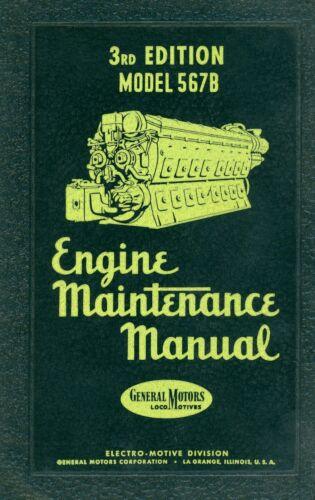 RR 567B Engine Maintenance (Operating) Manual