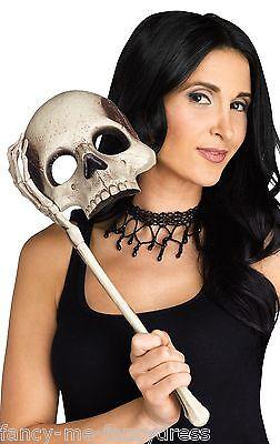 Mujer Sexy Calavera Halloween Baile de Máscaras Máscara Accesorio para Disfraz