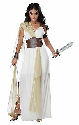 Adult Sexy Spartan Warrior Queen Roman Greek Toga Costume