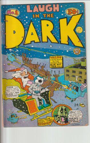 Underground Comic Book Laugh In The Dark #1 1971 50 cents S.Clay Wilson K.Deitch