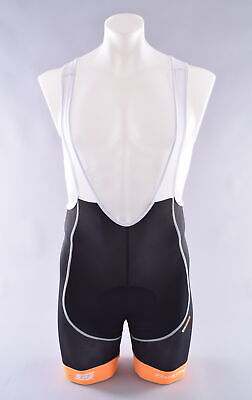 DNA Cycling Youth Beehive Bicycles Padded Bib Shorts Size IV Black//Green New
