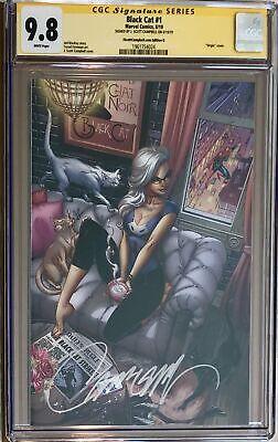 Black Cat #1 J. Scott Campbell Exclusive G SDCC Felicia's Loft Virgin CGC 9.8 SS](Black Cat Felicia)